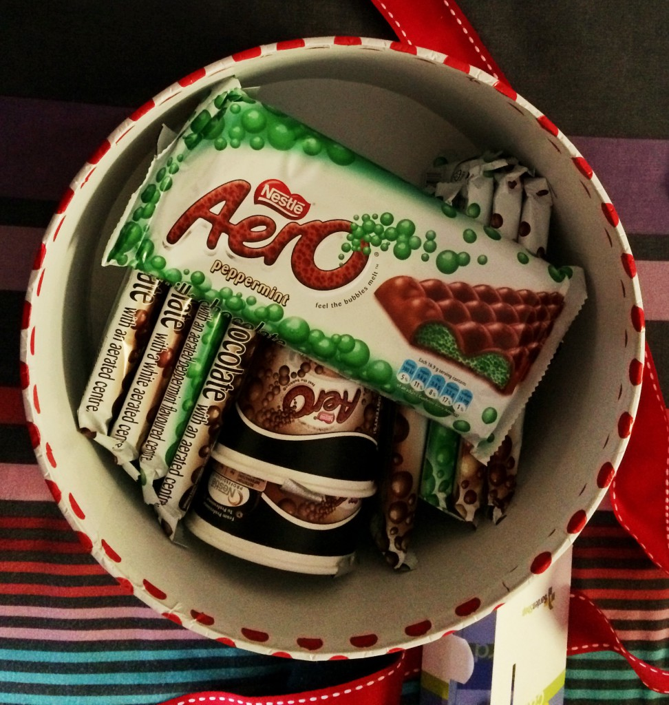 aero bubble chocolate