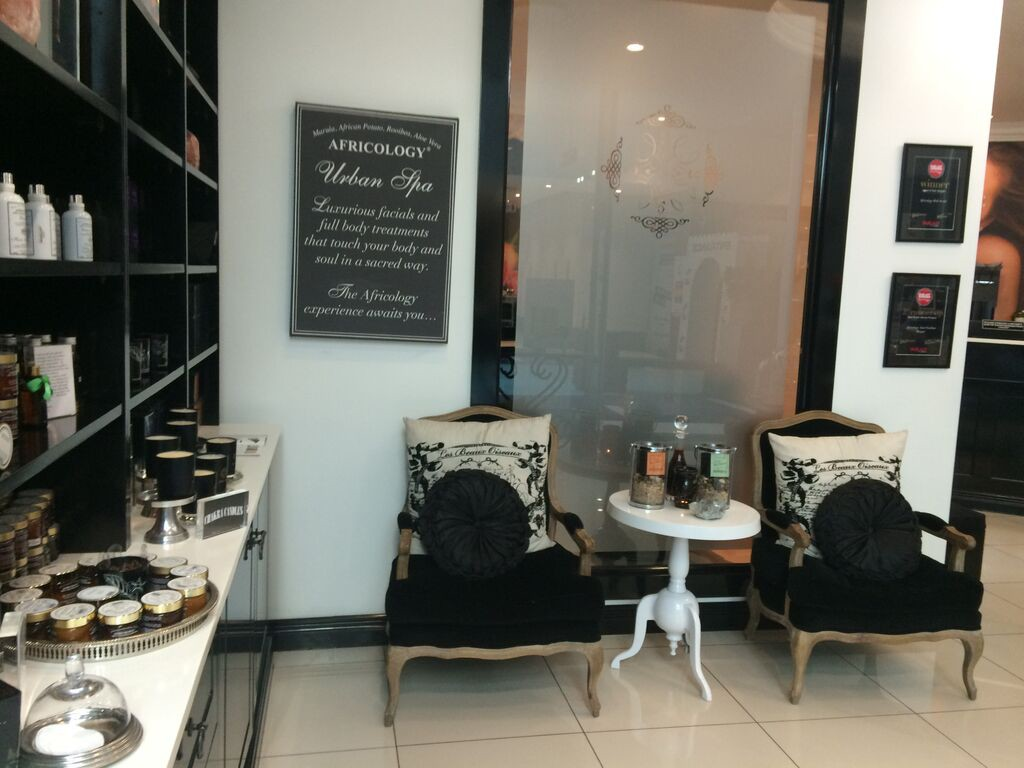 africology-spa-rosebank-waiting-area